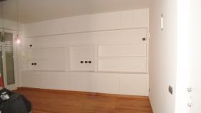 parete attrezzata su misura