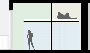 sezione camere soppalcate